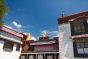 Top of the entrance of the Jokhang Temple, Lhasa, Tibet