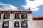 Typical Tibetan architecture in Lhasa, Tibet