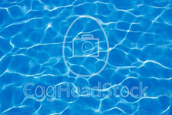 Bottom of blue swimming pool - EggHeadStock