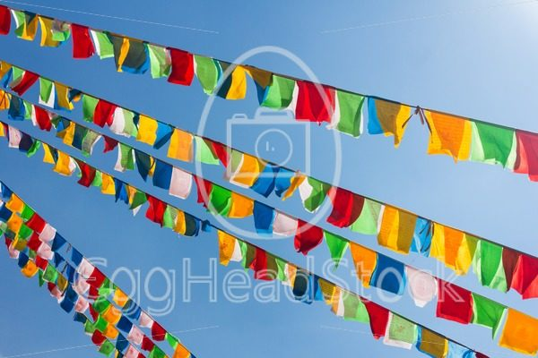 Buddhist tibetan prayer flags - EggHeadStock