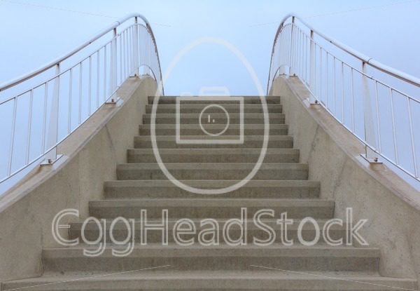 Concrete steps towards the sky - EggHeadStock