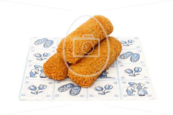 Dutch croquettes on a napkin - EggHeadStock