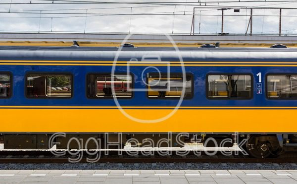 Dutch first class train car - EggHeadStock