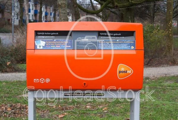Dutch public post box is temporarily out of service | Dutch: Brievenbus is tijdelijk buiten gebruik - EggHeadStock