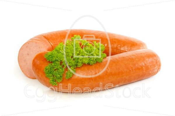 Dutch smoked sausage with curly parsley - EggHeadStock