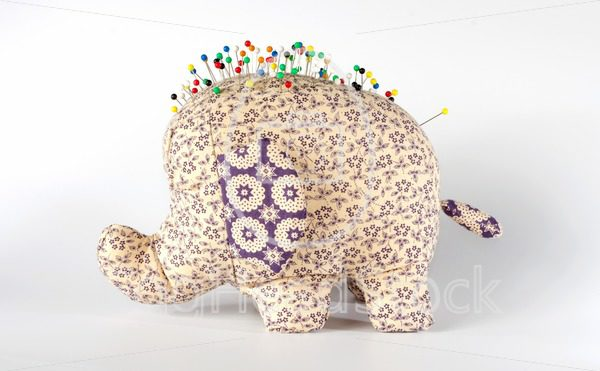 Elephant pincushion - EggHeadStock