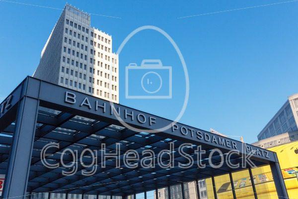 Entrance hall of the station Potsdamer Platz in Berlin, Germany - EggHeadStock