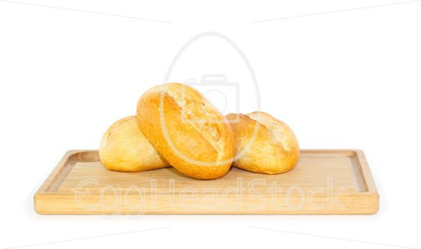 Fresh German bread rolls on a breakfast tray - EggHeadStock