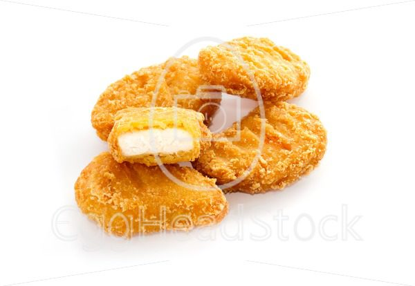Fried chicken nuggets - EggHeadStock