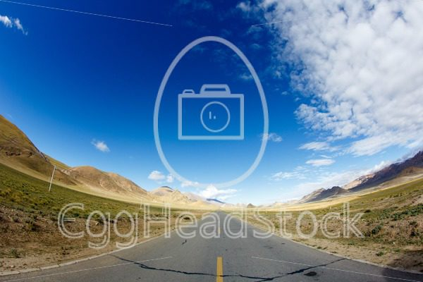 Friendship Highway in Tibet - EggHeadStock