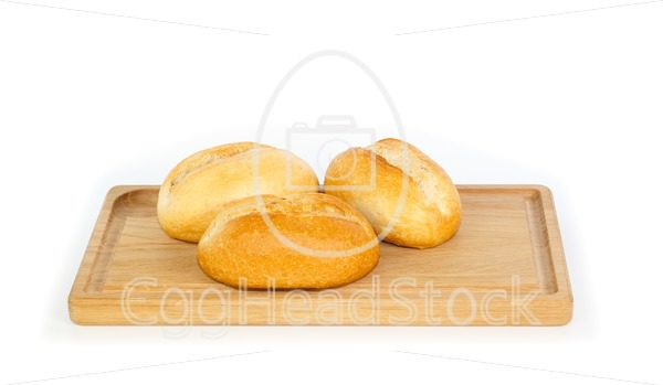 German style bread rolls on a breakfast tray - EggHeadStock