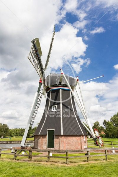 Historic Dutch polder mill - EggHeadStock