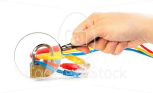 Inspection of secured network cables - EggHeadStock
