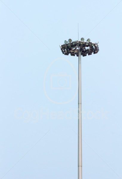 Lamppost on Tiananmen Square, Beijing, China - EggHeadStock
