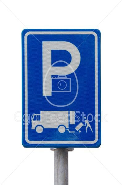 Loading and unloading sign - EggHeadStock