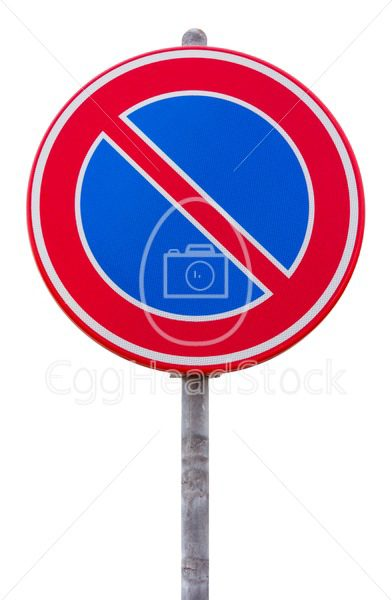 No parking road sign - EggHeadStock