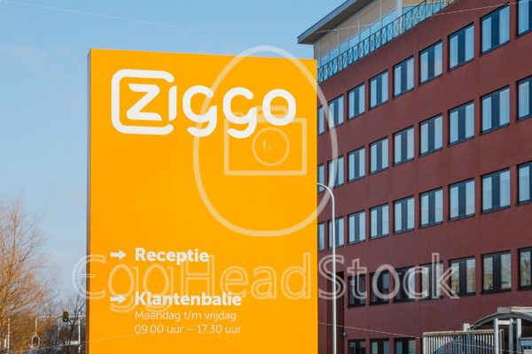 Office and customer service desk of Ziggo, the largest cable operator in the Netherlands - EggHeadStock