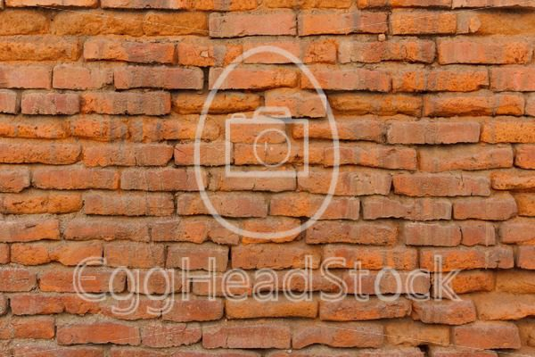 Old orange brick wall - EggHeadStock