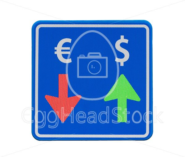 One-way dollar and euro currency traffic - EggHeadStock
