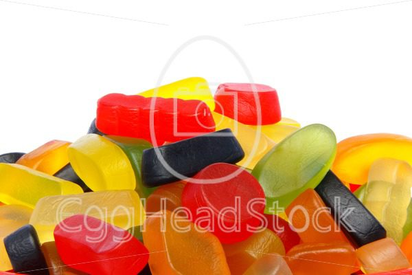 Pile of colorful candy - EggHeadStock