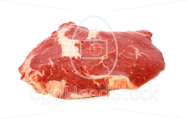 Raw matured rib eye - EggHeadStock