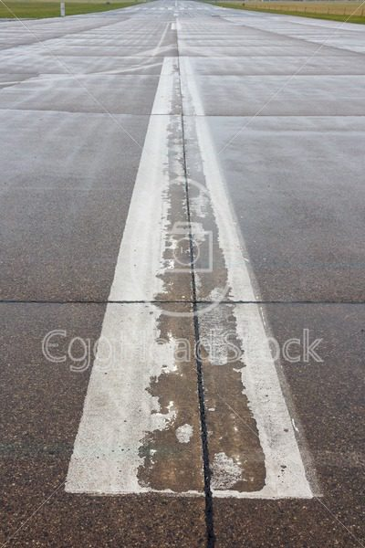 Runway at an airport - EggHeadStock