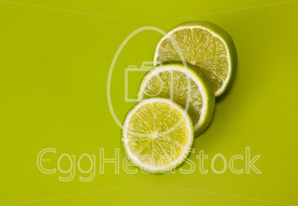 Sliced lime - EggHeadStock