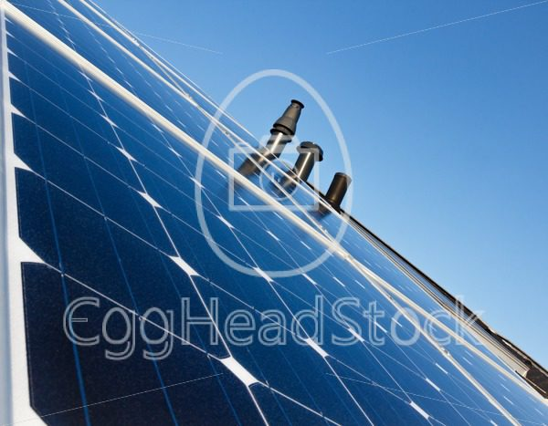 Solar panels on the roof - EggHeadStock