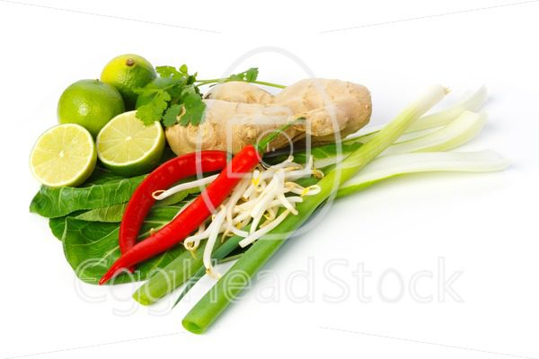 Still life of Asian ingredients and seasonings - EggHeadStock