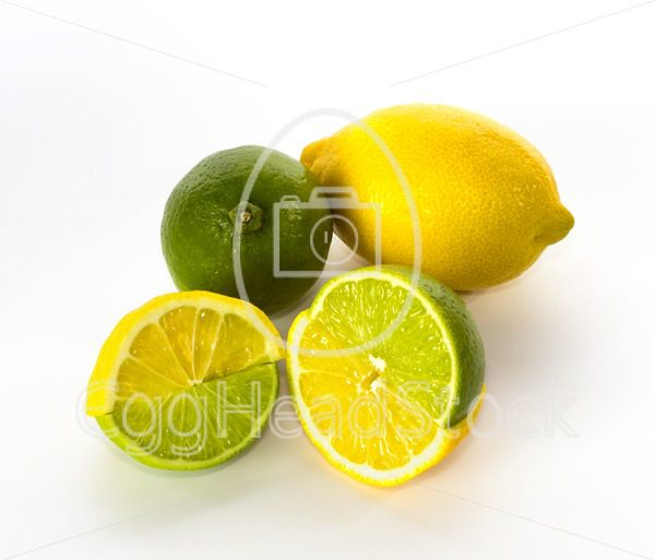 Swapped lemon and lime halves - EggHeadStock