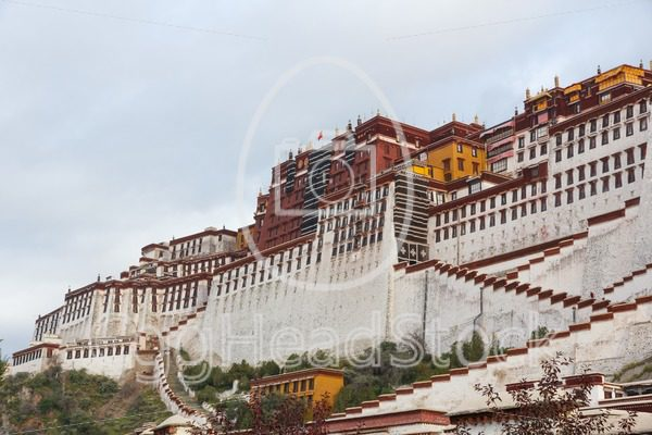 The Potala Palace in Lhasa - EggHeadStock