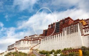 The Potala palace in the morning sun - EggHeadStock