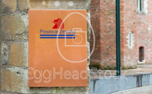 The logo of the province of Zeeland in Middelburg, Netherlands - EggHeadStock