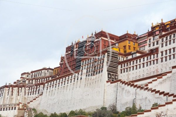 The majestic Tibetan Potala Palace in Lhasa - EggHeadStock