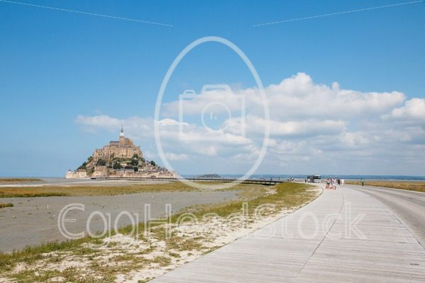 The new entrance of Le Mont Saint-Michel, France - EggHeadStock