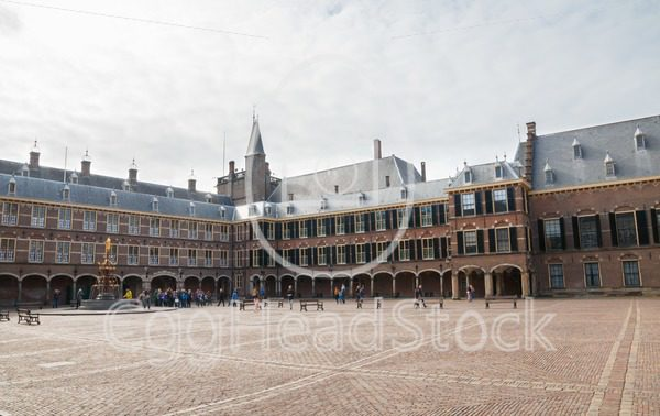 Tourists at the Binnenhof in The Hague - EggHeadStock