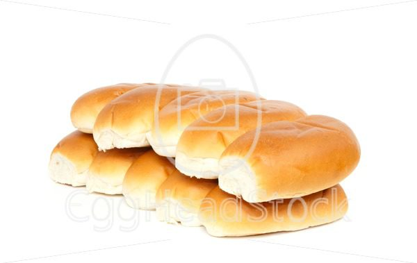 Two rows of bread rolls - EggHeadStock