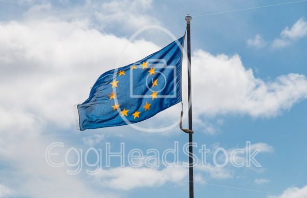 Waving flag of the European Union - EggHeadStock