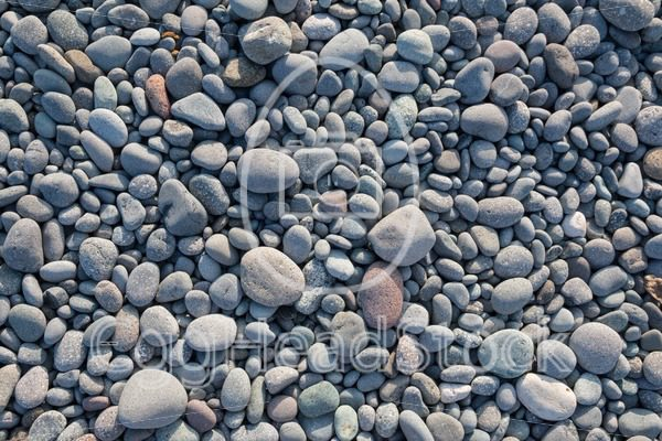 Top view of rounded pebbles - EggHeadStock