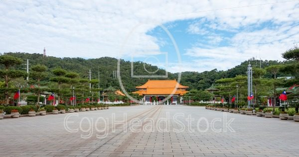 Square at the Revolutionary Martyrs' Shrine - EggHeadStock