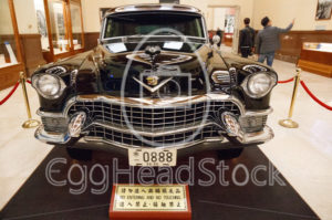 1955 Cadillac Series 75 at the Chiang Kai-Shek Memorial Hall - EggHeadStock