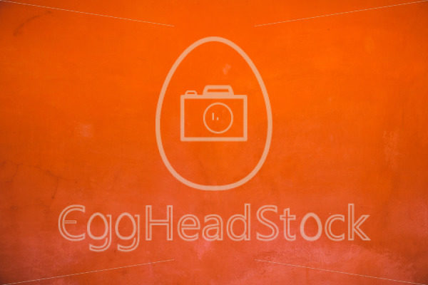 Oriental orange-red wall - EggHeadStock