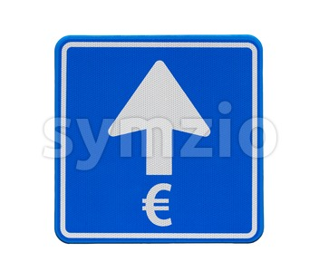 The Euro is heading only one direction: up Stock Photo