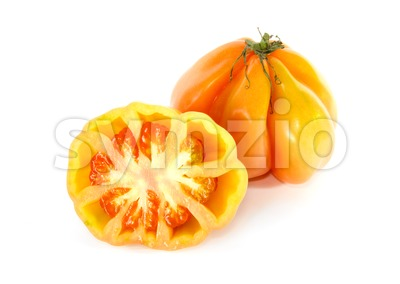 Coeur de boeuf tomato Stock Photo