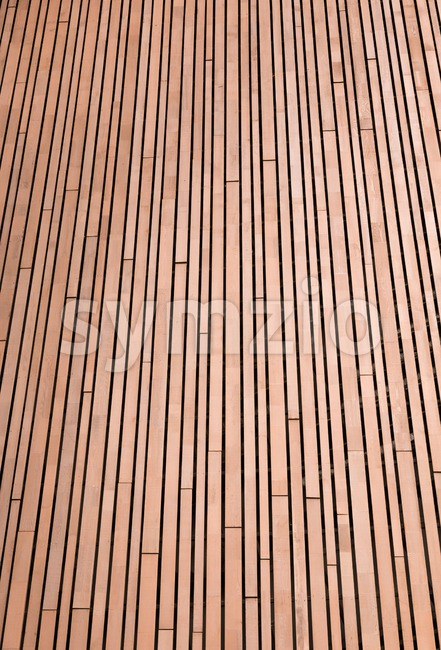 Background of wooden planks in portrait orientation Stock Photo