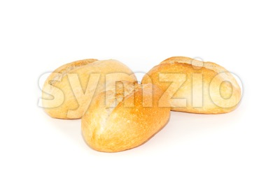 Crusty German bread rolls Stock Photo