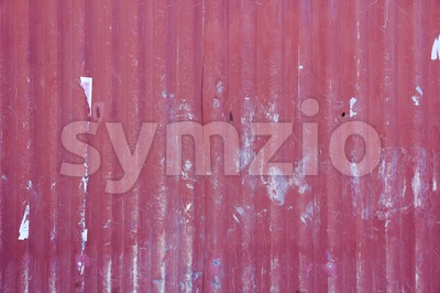 Background of corrugated metal Stock Photo