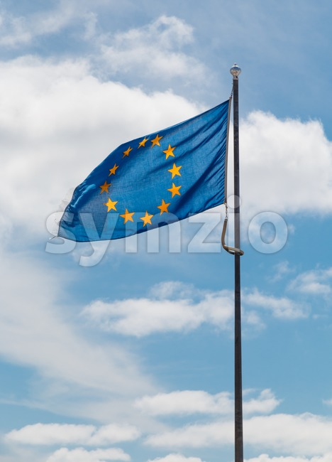 Flag of the European Union Stock Photo