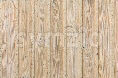 Wooden boardwalk in the sand with raindrops Stock Photo
