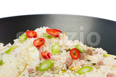 Indonesian Nasi Goreng (fried rice) Stock Photo